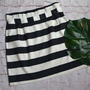 Kate Spade Nautical Stripe Skirt Size 12 D1